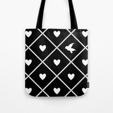 Always Near (from the Valentine set) (colors: midnight moon) Tote Bag