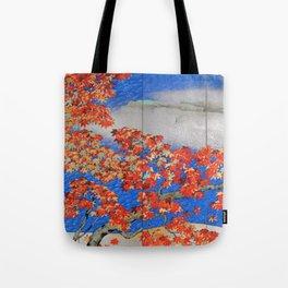 12,000pixel-500dpi - Yokoyama Taikan - MOMIJI - Top Quality Image Edition Tote Bag