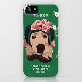 Frida-brador iPhone Case