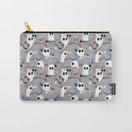 Cute Ghost Halloween Pattern Carry-All Pouch