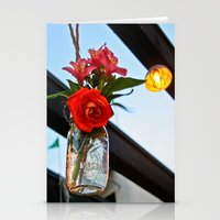outdoor Stationery Cards featuring Outdoor Decor by Kim Ramage