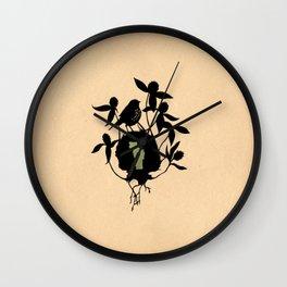 Vermont - State Papercut Print Wall Clock