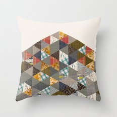 Scraps Throw Pillow