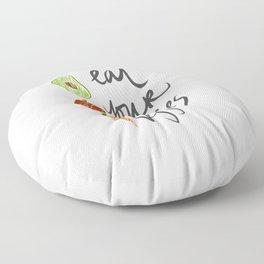 Eat Your Veggies Floor Pillow