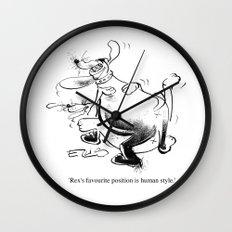 Human Style Wall Clock