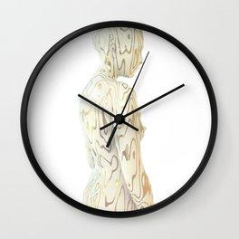 Liz Gold Wall Clock