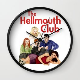 The Hellmouth Club Wall Clock