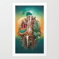 peru Art Prints featuring peru by Tanya_tk