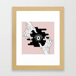 Rosy Open Framed Art Print