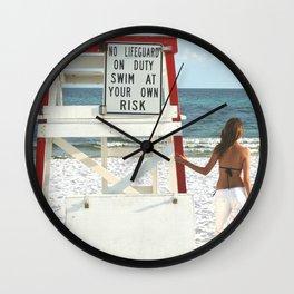 LIFEGAURD Wall Clock