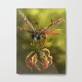 Butterflower Metal Print
