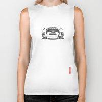 porsche Biker Tanks featuring Porsche 906 by Remove Before . . .