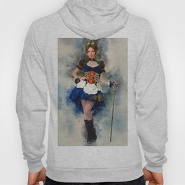 Steampunk Girl Hoody
