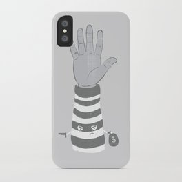 Armed Robbery iPhone Case