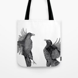 Ravens. Tote Bag