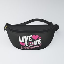 Volleyball Life Fanny Pack