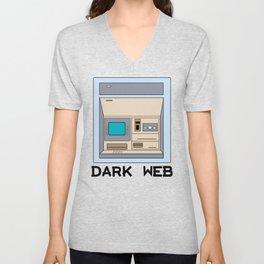 Dark Web Unisex V-Neck