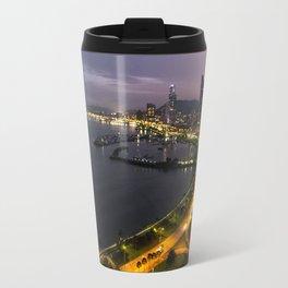 Panama City at Dusk Travel Mug