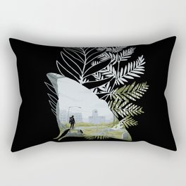 I'm gonna find You. Rectangular Pillow