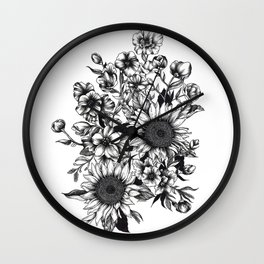 Nameless Ghost Wall Clock