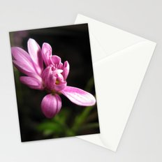 Purple Alone Stationery Cards