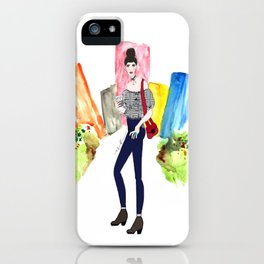 City Girl iPhone Case