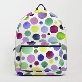 Cold watercolor drops Backpack