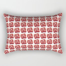 Collage of red roses Rectangular Pillow