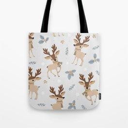 Adorable Reindeer Tote Bag