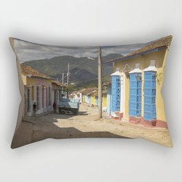 Wonderful Trinidad, Cuba.  A colourful city, at the feet of majestic mountains. Rectangular Pillow