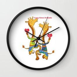 Valentine's 3 Wall Clock