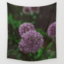 New York Alliums Wall Tapestry