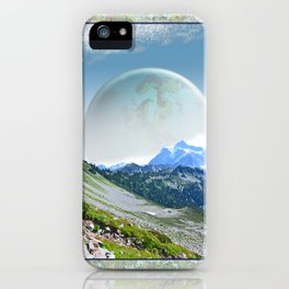 PLANETARY COMPANION iPhone Case