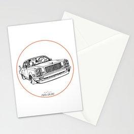 Crazy Car Art 0203 Stationery Cards