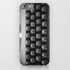 in black and white iPhone 6s Slim Case