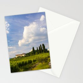 Sunset in the vineyards of Rosazzo Stationery Cards