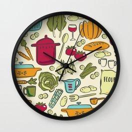 Cookin' Wall Clock