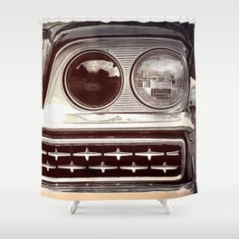 Rebel // Classic Car Shower Curtain