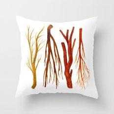 sticks no. 6 Throw Pillow