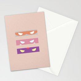 Teenage Minimal Ninja Baddies Stationery Cards