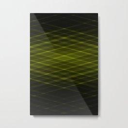 Designer Print - Acid Green Metal Print