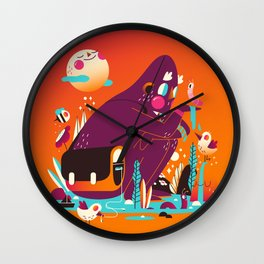 Odd Creature Dream Space Wall Clock