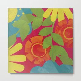 Bold and Bright 3 Metal Print