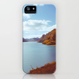 Blue Lake in Scandinavia iPhone Case