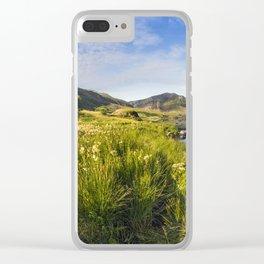 Llyn Ogwen and Tryfan Clear iPhone Case