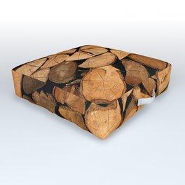 Wood Outdoor Floor Cushion
