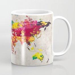 World Map 55 Coffee Mug