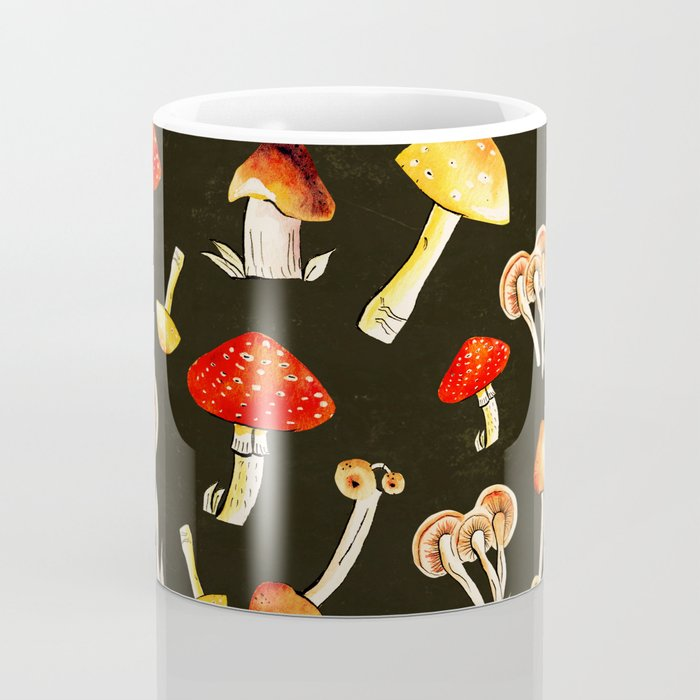 Brigt Mushrooms Coffee Mug