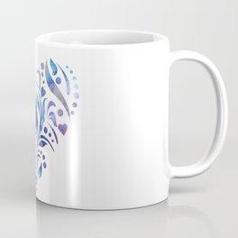 Mandala Heart Coffee Mug