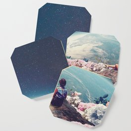 My World Blossomed when I Loved You Coaster